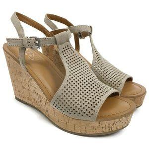Franco Sarto Wedge Sandals Clinton 2 SZ0370